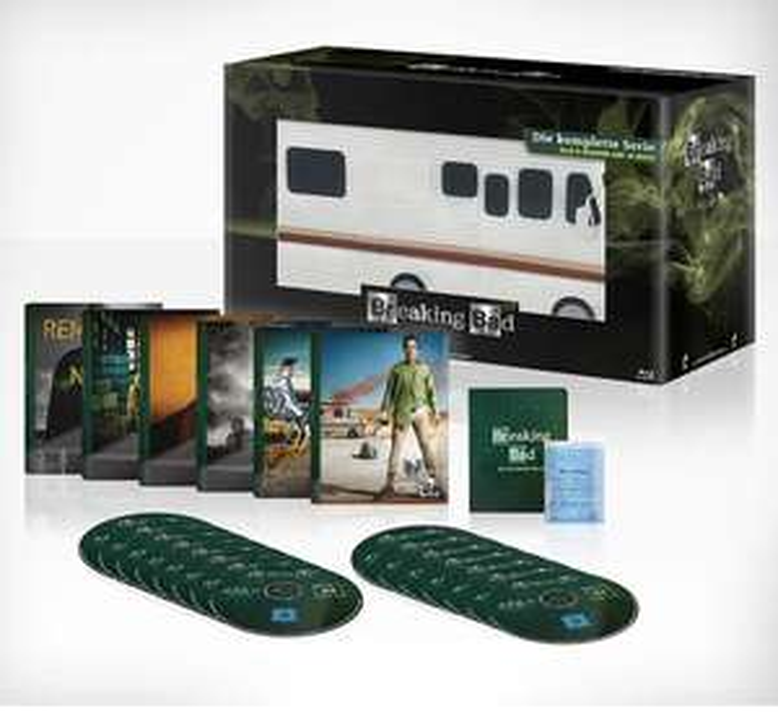 Breaking Bad – Die komplette Serie [Auf 2500 Stück limitiertes Meth Mobil] (Exklusiv bei Amazon.de) [Blu-ray]