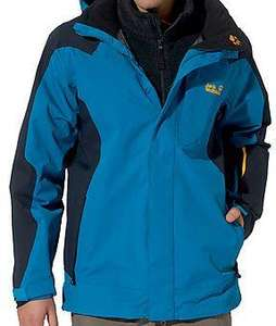 "Jack Wolfskin Outdoorjacke ""Mountain Rebel""  in Blau bei Galeria Kaufhof"