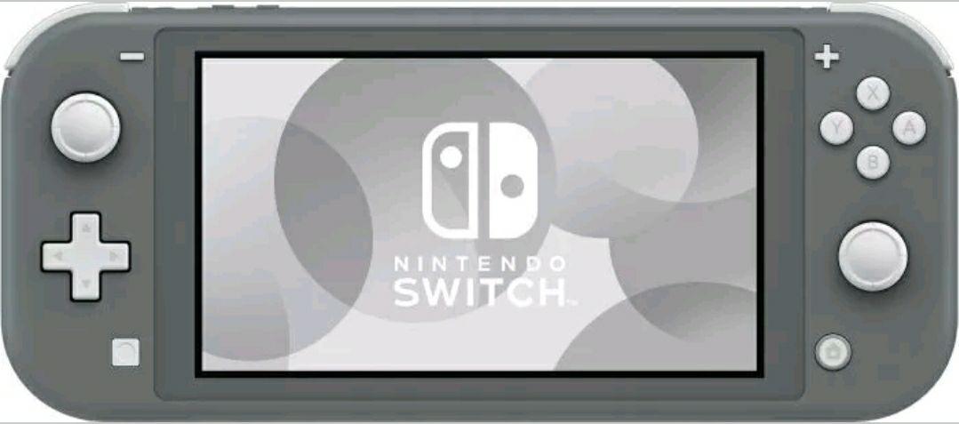 Nintendo Switch Lite Grau Edition B-ware
