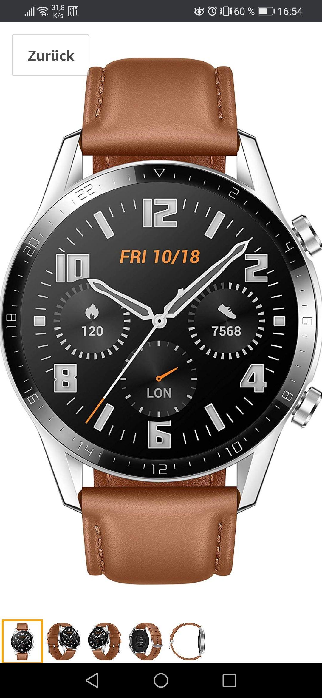 Huawei Watch GT2 derzeit bei Amazon im Angebot + 5€ Amazon Gutschein