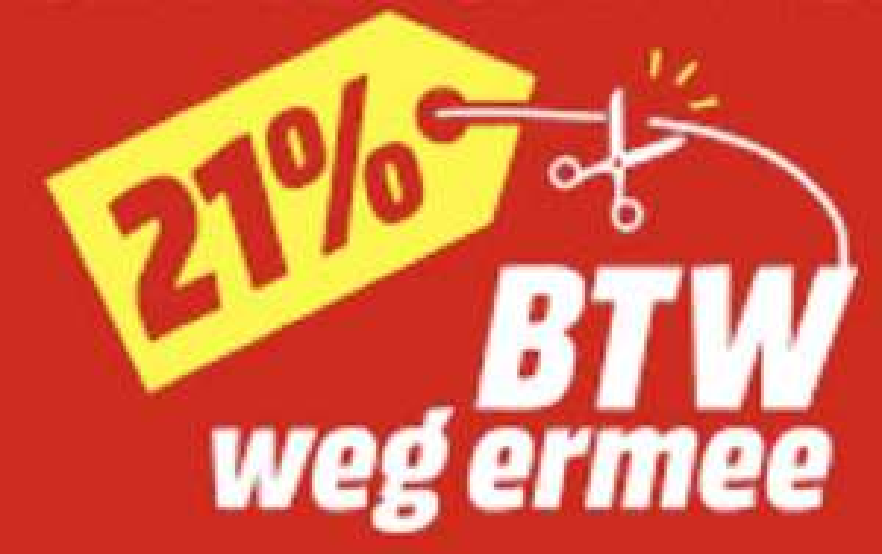 Grenzgänger MediaMarkt Niederlande: 21% Mehrwertsteuer geschenkt (ca. 17,36% Rabatt) - vom 23. - 26.01.