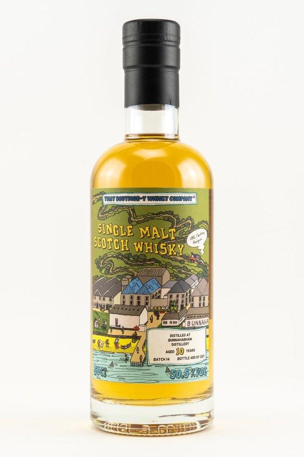 Whisky-Maniac Empty Stock Sale Whisky-Sammeldeal: z. B. Bunnahabhain 10 Jahre Batch 14 TBWC 0,5l 50,5% vol.