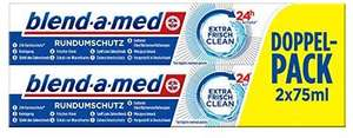 """8x Blend-A-Med """"Extra Frisch Clean"""" für 4,18€ bei Amazon [1 Stück 52ct]"""