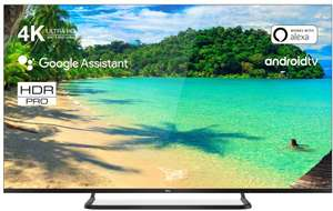 TCL 50EP680 Fernseher 126 cm (50 Zoll) Smart TV (4K UHD, HDR10+, Wide Color Gamut, Micro Dimming Pro, Android TV, Alexa kompatibel) [Amazon]