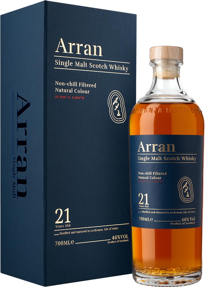 Arran 21 Jahre (2019) Single Malt Whisky