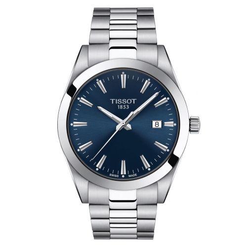 Tissot Uhren reduziert z.B. Tissot Gentleman Quarz Blau Edelstahl T127.410.11.041.00
