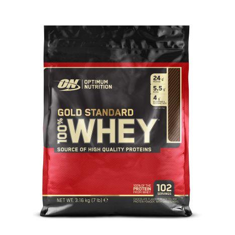 6,32kg Optimum Nutrition Gold Standard Whey Protein (12,29€/kg) + Shaker oder ähnl.