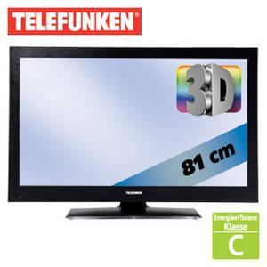 Telefunken Full-HD 3D LCD TV 32 Zoll - inkl. 4x 3D  Brille für 229 Euro @ Real