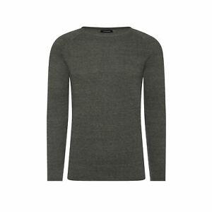 Jack&Jones Strickpullover Grau 100% Baumwolle Größe XL