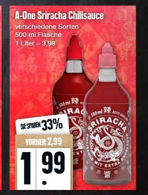 [ Edeka Nord ] Sriracha Sauce versch. Sorten 500ml