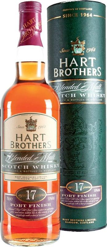 Hart Brothers 17 Jahre Portwood Finish 0,7l 50%. Blended Malt Whisky