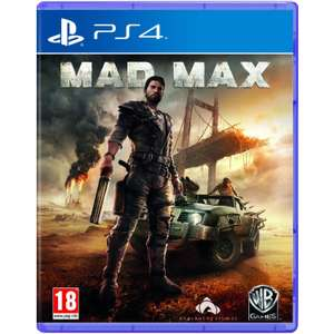 Mad Max (Disk) UK Version PS4, inkl. Versand