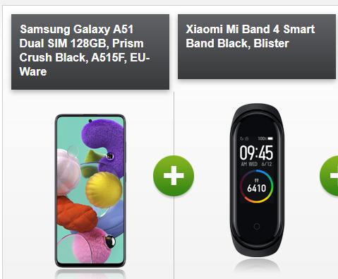 (Telekom-Netz) mobilcom debitel Telekom green LTE (14GB LTE, Allnet- & SMS-Flat) inkl Samsung A51 und Xiaomi Mi Band 4