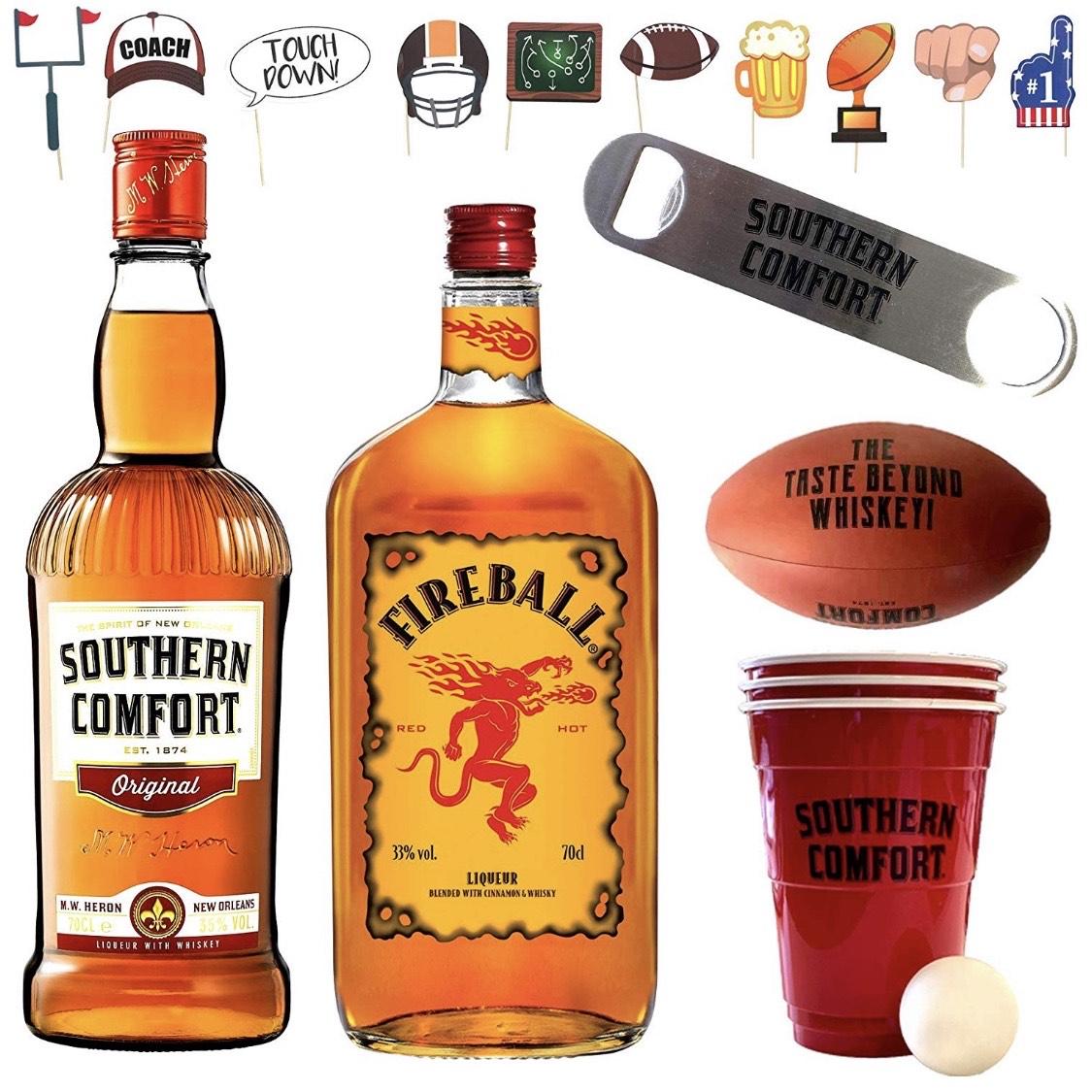 Super Bowl | Southern Comfort & Fireball Party Paket