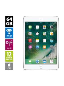 Apple iPad mini 4 Wi-Fi + Cellular (64GB) - silver (refurbished) | 2048x1536 Pixel | 7,9""