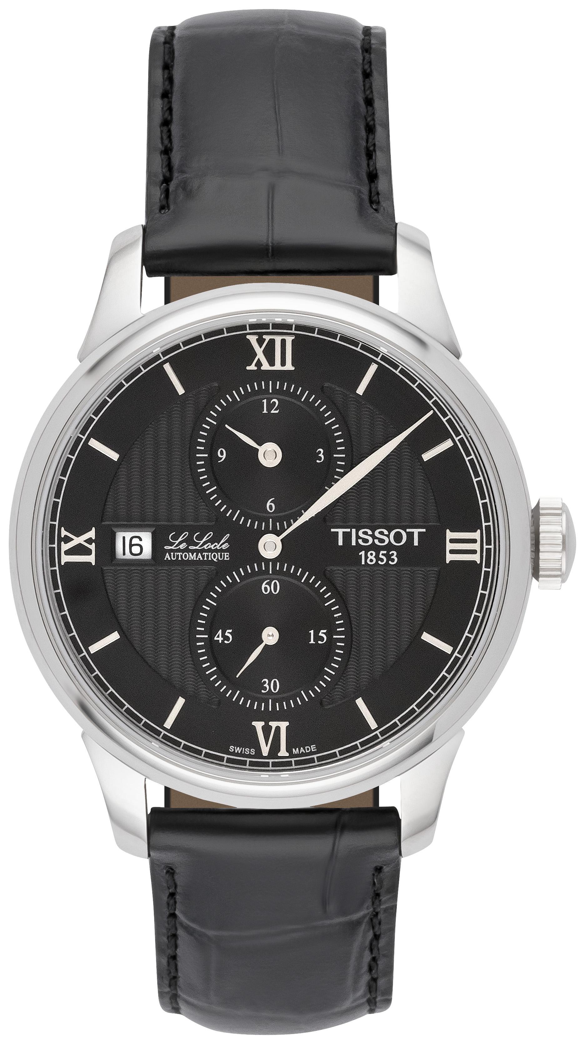 TISSOT Le Locle Automatic für 340€ inkl. Versand & Zoll   Armbanduhr mit Saphirglas, Sichtboden, 39,3mm Durchmesser