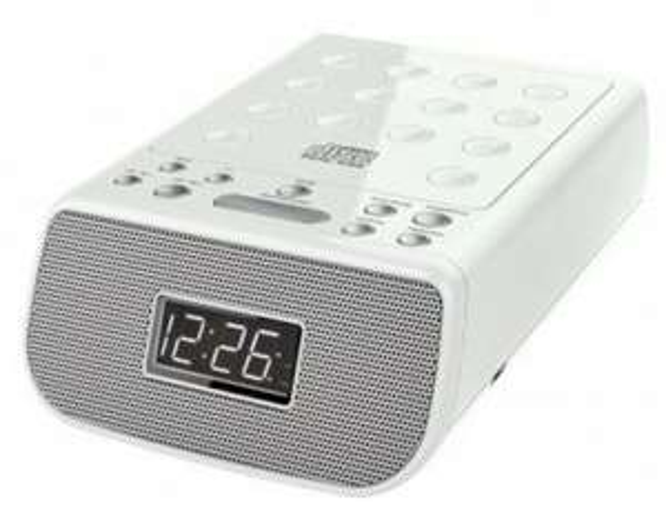 SOUNDMASTER URD 860 weiß Radiowecker