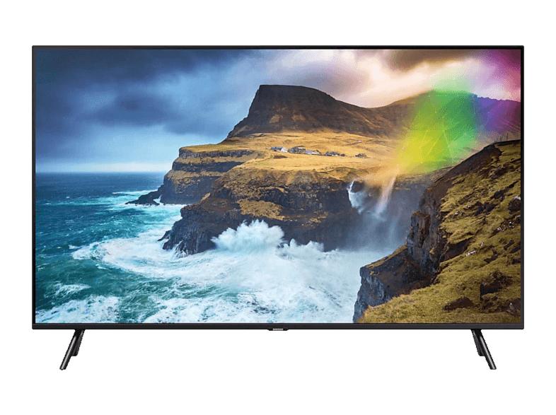 SAMSUNG GQ49Q70RGTXZG QLED TV (Flat, 49 Zoll/123 cm, , SMART TV) + Entertainment-Paket (u.a. Sky Ticket + DAZN)