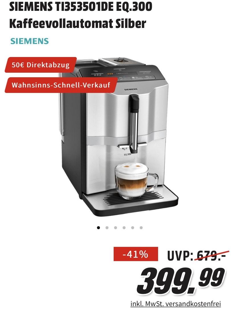 Kaffeevollautomat Siemens TI353501DE EQ.300