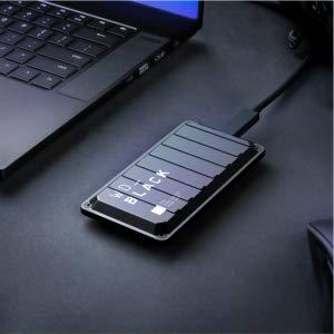 WD Black P50 Gaming Drive SSD mit 2TB, USB-C 3.2, 2.000 MB/s, für 424€ (MediaMarkt AT)