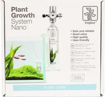 Nano CO2 Anlage für Aquarien <60L