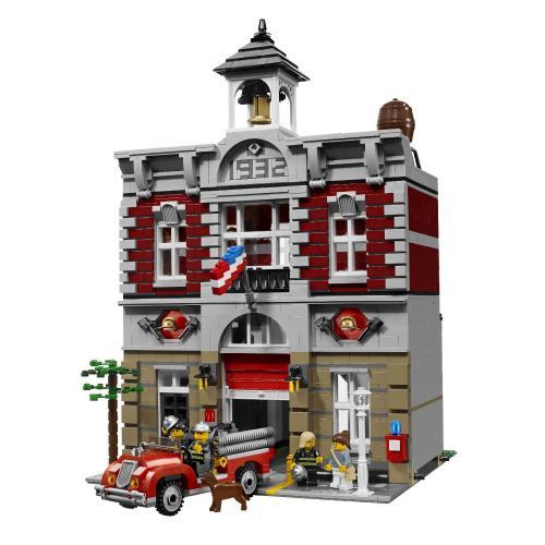 [modellbau-strasse.de] Lego 10197 - Feuerwache  - 29,88% unter Idealo!