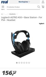 LogiTech Astro A50 + Base Station PS 4