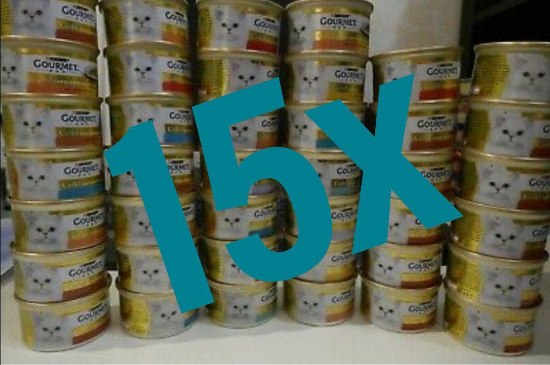 [Kaufland] 15x Gourmet Katzenfutter mit Coupon für 2,35€ (Stückpreis 0,16€)