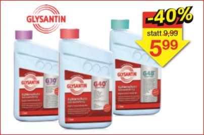 Kühlerfrostschutz BASF Glysantin G30, G40 oder G48 Ready Mix 1,5 Liter für 5,99 Euro [Jawoll]