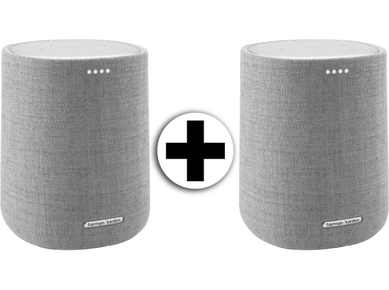 Grenzgänger-Mediamarkt Niederlande] 2 x HARMAN KARDON Citation One - Smart Speaker (App-steuerbar, Bluetooth, W-LAN Schnittstelle für