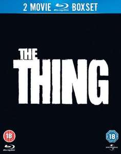(UK) The Thing (1982) / The Thing (2011) Double Feature[Blu-Ray] für umgerechnet ca. 7,64€ @ Zavvi