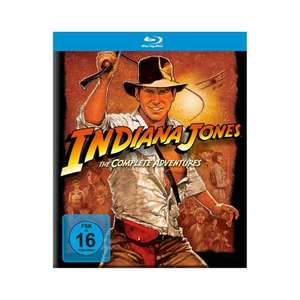 Indiana Jones The Complete Adventures Blu-Ray Box