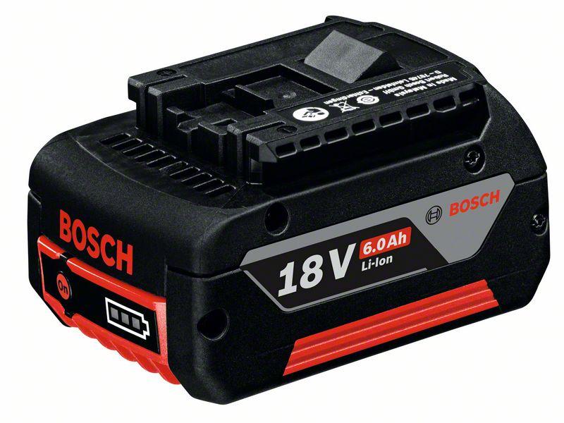 Bosch Akku 18 Volt Heavy Duty (HD), 6.0 Ah Li-Ion, GBA