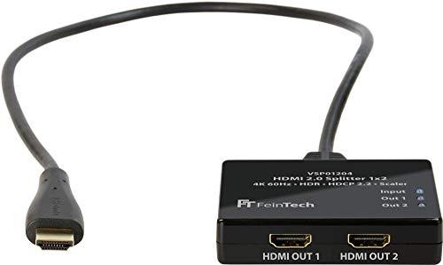 FeinTech VSP01204 HDMI-Splitter mit HDR für Ambilight zB mit Hyperion