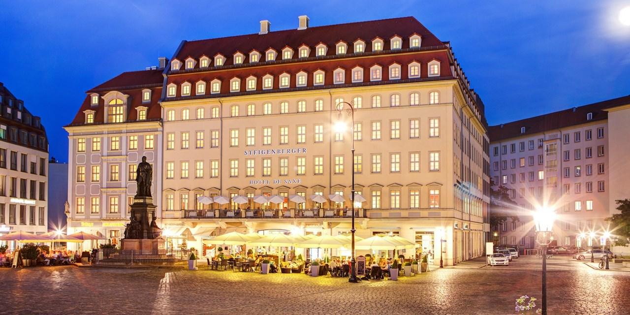 Steigenberger Dresden: 2 Personen inkl. Frühstück / bis 01.Mai