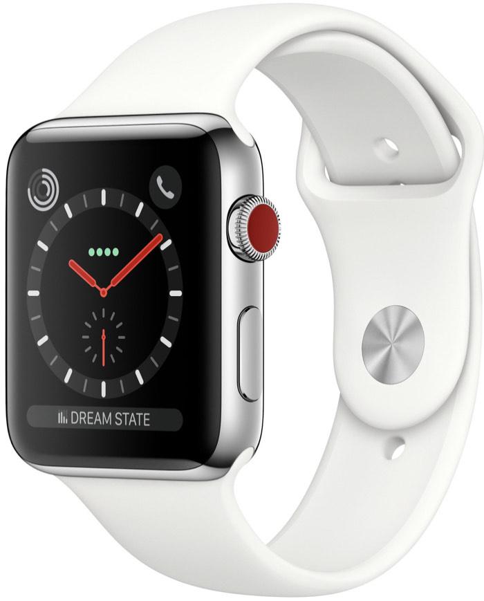 Apple Watch Series 3 Stainless Steel (Edelstahl) WiFi & Cellular 38mm