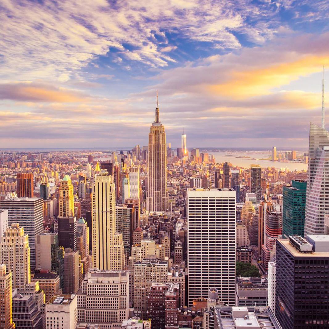 Flüge USA / New York Hin und Rückflug von Hamburg, Düsseldorf, Stuttgart, Dresden und Nürnberg (Januar - Mai) ab 195€