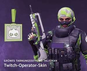 [Twitch Prime] R6 Siege - 3 Operator Packs Part 2