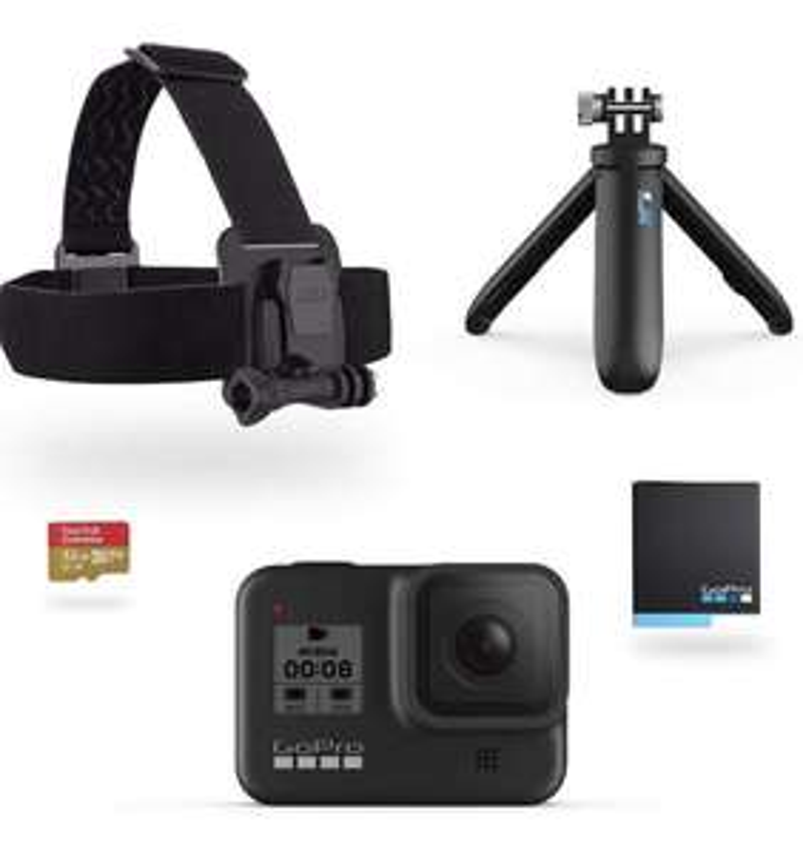 GoPro HERO8 Black Bundle 432,50€ - Amazon