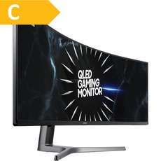 "Samsung CRG9 Monitor - 49"", 5120x1440, Freesync 2, 120Hz, Alternate"