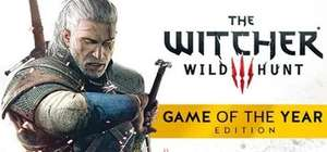 [Steam/gog] The Witcher 3: Wild Hunt - Game of the Year Edition.