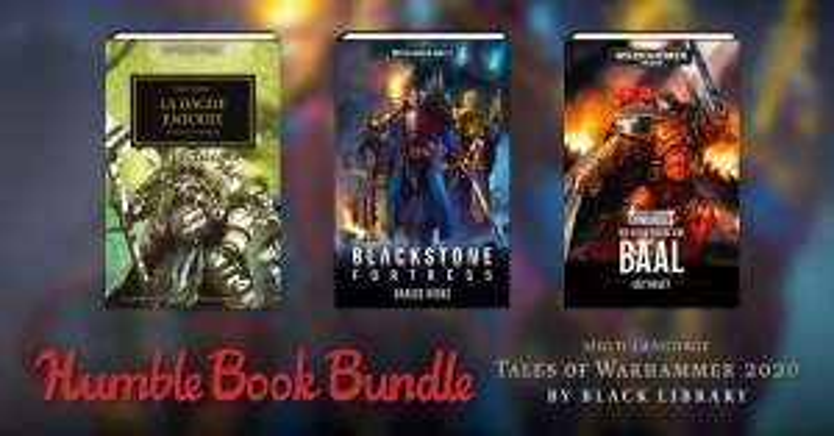 Warhammer 2020 Buch-Bundle (dt./engl./fr.) [Humble Bundle]