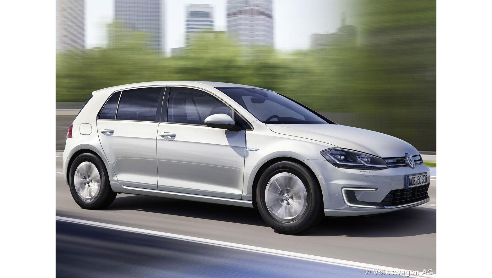 VW E-Golf Basismodell