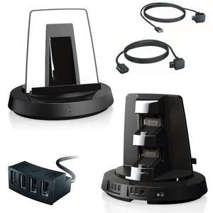 Vogels PS3 Twistdock Standfuss - PS 3 Controller Docking Lade Einheit