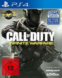 Tevi /Expert Call of Duty Infinite Warfare PS4 1,99€ im Laden