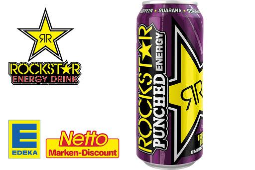 GRATIS 5 Liter Rockstar Energydrink mit 1,20€ Gewinn dank genialer Kombi (Netto MD)