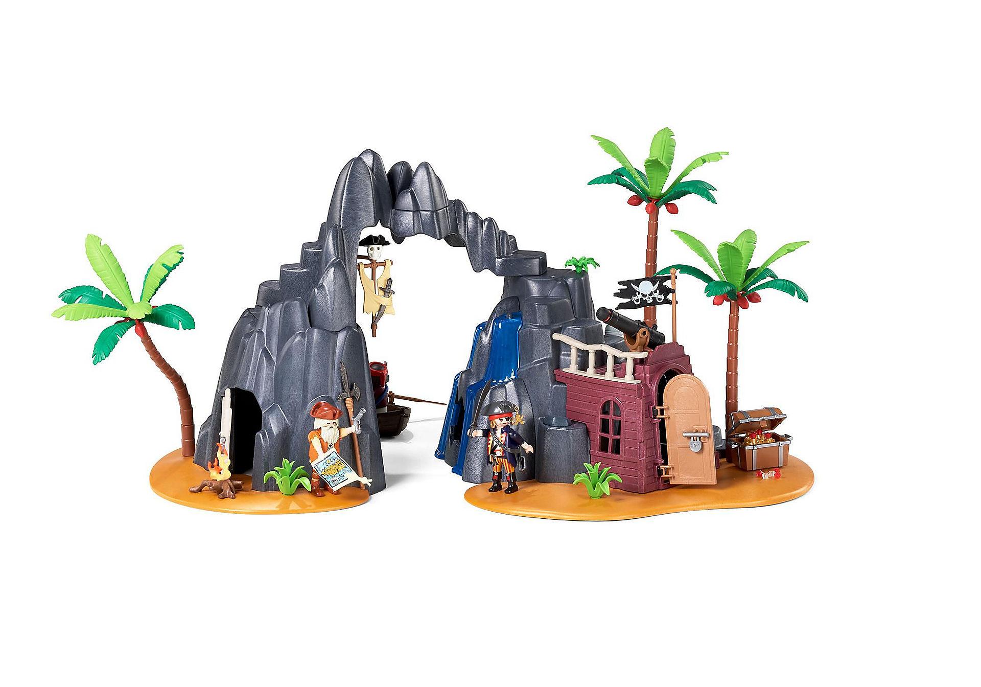 PLAYMOBIL PIRATES Piraten-Schatzinsel 6679 im Playmobil Shop