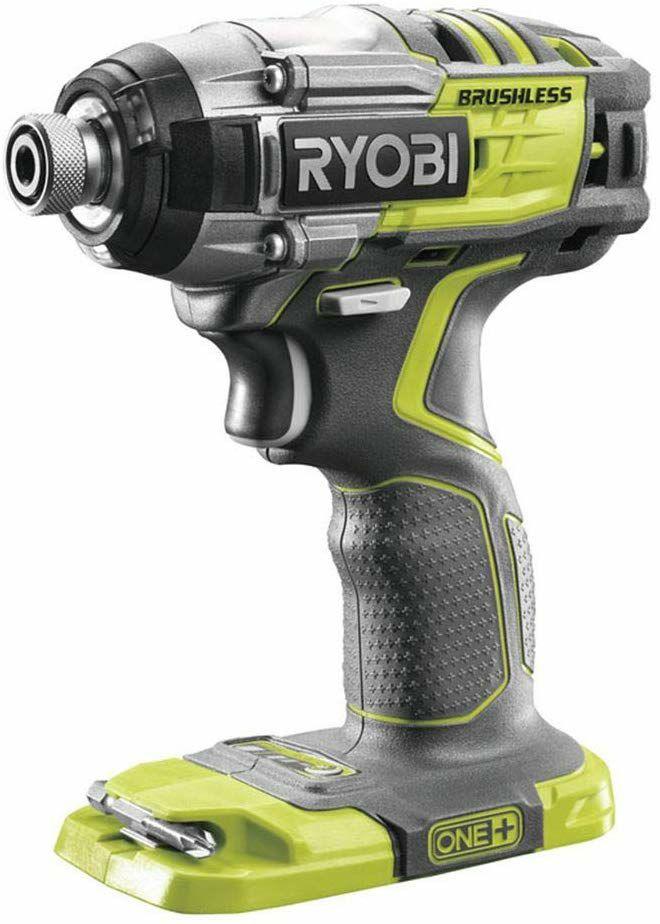 Ryobi One+ R18IDBL DeckDrive Brushless 18V Akku-Schlagschrauber (bürstenlos, 270 Nm, LED-Licht)