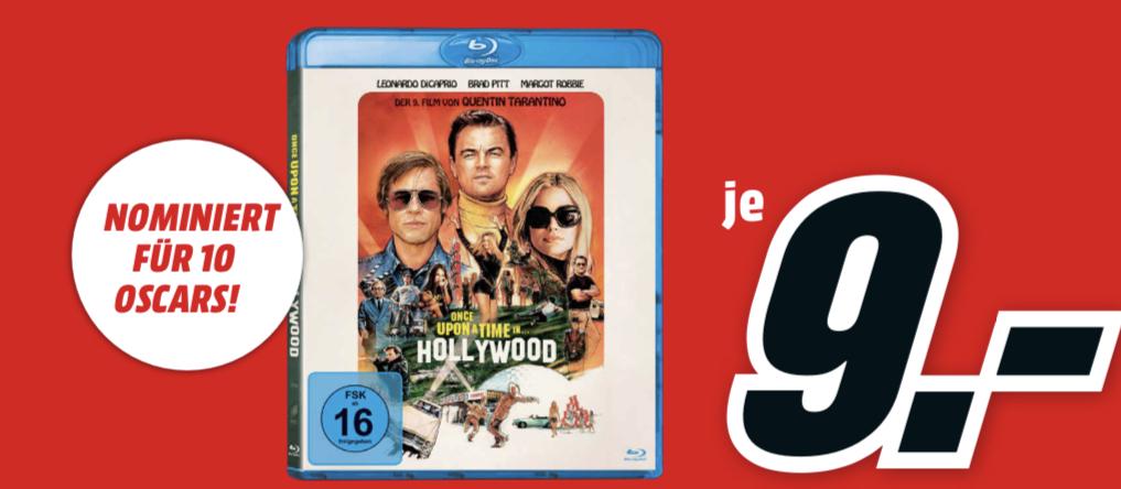 [lokal: MM Berlin & Umgebung - am Sonntag, 26.01. von 13-18 Uhr] Once Upon A Time In… Hollywood (Blu-ray) für 9€ | Krups KM 305D für 35€