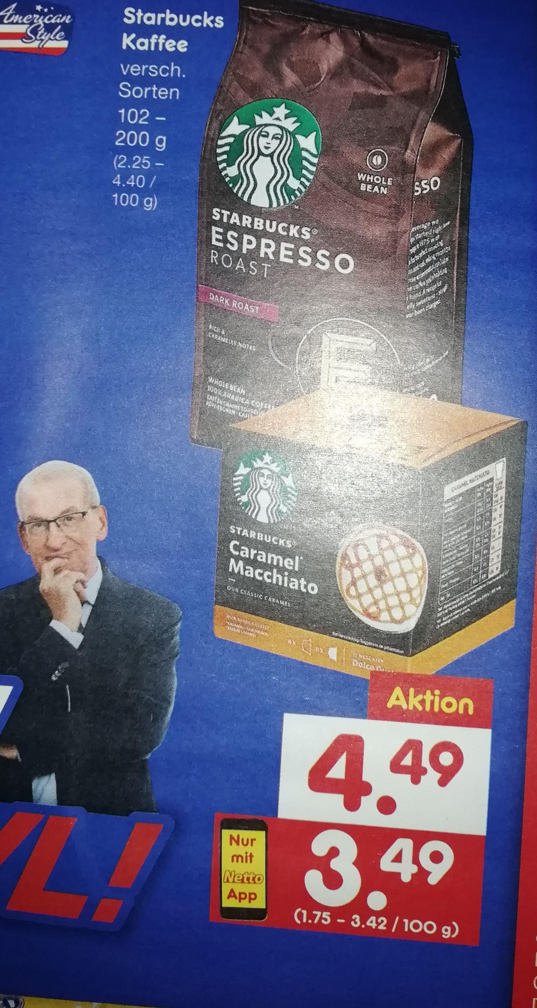 [Netto MD] Nescafe Dolce Gusto Starbucks Kapseln mit der App für 3,49€